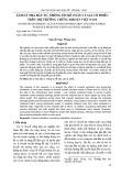 Tâm lý nhà đầu tư, thông tin kế toán và giá cổ phiếu trên thị trường chứng khoán Việt Nam