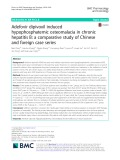 Adefovir dipivoxil induced hypophosphatemic osteomalacia in chronic hepatitis B: A comparative study of Chinese and foreign case series