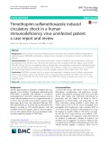 Trimethoprim-sulfamethoxazole induced circulatory shock in a human immunodeficiency virus uninfected patient: A case report and review