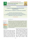 Evaluation of genetic diversity in some banana hybrids using ISSR markers