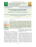 Role of trace constituent in ground water quality in nine tribal block of Madhya Pradesh, India