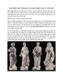 Giới thiệu một số phong cách điêu khắc Châu Âu tiêu biểu