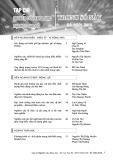 Tạp chí Nghiên cứu khoa học Đại học Sao Đỏ: Số 1(60)/2018
