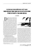 Di sản địa danh biển đảo Việt Nam: Nhận diện quá trình thành tạo và giá trị của chúng từ một số thuyết lý địa danh hiện đại