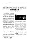 Chỉ số năng lực cạnh tranh cấp tỉnh PCI 2015 thành phố Đà Nẵng