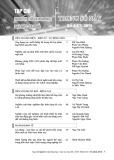Tạp chí Nghiên cứu Khoa học Đại học Sao Đỏ: Số 4(63)/2018