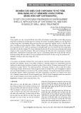 Nghiên cứu điều chế chitosan từ vỏ tôm, ứng dụng xử lý nấm mốc chân tường bằng hỗn hợp chitosan/TiO2