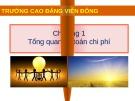Bài giảng Kế toán chi phí: Chương 1 - Nguyễn Hoàng Phi Nam (Cao đẳng Viễn Đông)