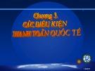 Bài giảng Thanh toán quốc tế: Chương 3 - PGS.TS. Hà Văn Hội (2017)