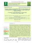 Comparison of energy consumption for different sowing techniques and seed rate of direct seeded rice (Oryza sativa L.) under medium land situation of manipur
