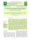 Field evaluation of native pink pigmented facultative methylotrophs for growth promotion and anthracnose management in chilli