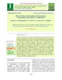 Effect of INM on yield, quality and economics in foxtail millet (Setaria italica L.) in black Soil