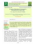 Prevalence of foliar diseases in pomegranate in Banaskantha district, Gujarat, India