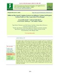 Different rice based cropping systems can influence various soil organic carbon pools in a clay loam soil of west Bengal