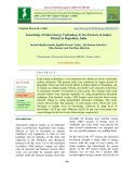 Knowledge of solar energy technology by the farmers of Jaipur district in Rajasthan, India