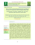 Effect of nutrient and weed management practices on yields and economics of aromatic rice in semi arid region of Bihar, India