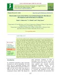 Electrostatic conversion kit for conventional knapsack mist-blower: Development and performance evaluation