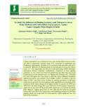 To study the influence of planting geometry and nitrogen level on yield attribute and yield of rice (Oryza sativa L.) under upper Gangetic plains region of India
