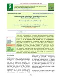 Entrepreneurial behaviour of king chilli growers in Peren district, Nagaland, India