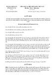 Quyết định số 20/2019/QD-UBND tỉnh KonTum