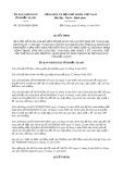 Quyết định số 26/2019/QD-UBND tỉnh BắcGiang