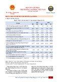 Bản tin cập nhật thị trường lao động Việt Nam số 18, quý 2 năm 2018