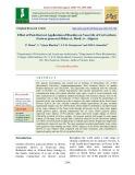 Effect of post-harvest application of biocides on vase life of cut gerbera (Gerbera jamesonii Bolus ex. Hook) cv. Alppraz