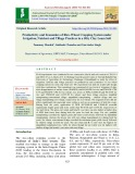 Productivity and economics of rice-wheat cropping system under irrigation, nutrient and tillage practices in a silty clay loam soil