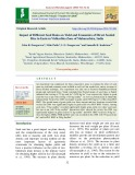 Impact of different seed rates on yield and economics of direct seeded rice in eastern vidharbha zone of Maharashtra, India