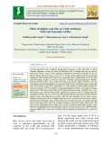 Effect of sulphur and zinc on yield attributes, yield and economics of rice