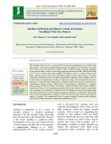 Studies on physical and hunter colour of gamma irradiated tofu (Soy Paneer)