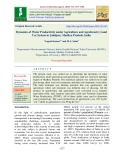 Dynamics of water productivity under agriculture and agroforestry land use system in jabalpur, Madhya Pradesh, India