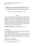 A preliminary causal analysis of small business access to credit during economic expansion and contraction