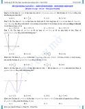 Đề vận dụng cao số 01 – hàm số đơn điệu, đơn điệu hàm hợp