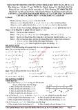 Ứng dụng đạo hàm để khảo sát và vẽ đồ thị của hàm số