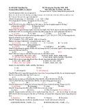 Đề thi thử THPT Quốc gia môn Hóa học năm 2020 - THPT Võ Thị Sáu