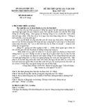 Đề thi thử THPT Quốc gia môn Ngữ văn năm 2020 - THPT Duy Tân