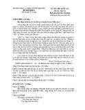 Đề thi thử THPT Quốc gia môn Ngữ văn năm 2020 - THPT Nguyễn Khuyến
