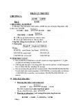 Lý thuyết và bài tập hữu cơ môn Hóa học lớp 12