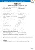 Bài tập tự luyện liên kết hóa học, nền tảng hóa học (2018-2019)