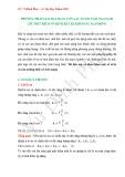 Phương pháp giải bài toán con lắc lò xo nằm ngang bị giữ một điểm cố định bất kì khi đang dao động
