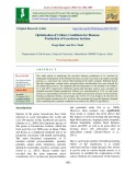 Optimization of culture conditions for biomass production of Ganoderma lucidum