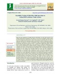 Feasibility testing of mini rice mill operation in animal driven rotary mode system