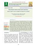 Physiochemical analysis of some Saudi Arabia honey