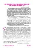 Một số vấn đề về tư duy và định hướng cải cách tư pháp ở Việt Nam trong giai đoạn tới