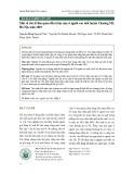 Một số yếu tố liên quan đến trầm cảm ở người cao tuổi huyện Chương Mỹ, Hà Nội, năm 2019