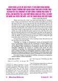 Đàm phán lại và hệ quả pháp lý khi đàm phán không thành trong trường hợp hoàn cảnh thay đổi cơ bản theo bộ nguyên tắc Unidroit về hợp đồng thương mại quốc tế (PICC), bộ nguyên tắc luật hợp đồng Châu Âu (PECL) và một số quốc gia trên thế giới - giá trị tham khảo cho Việt Nam