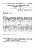Chiến lược nâng cấp chuỗi giá trị cam sành ở tỉnh Hậu Giang