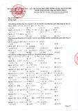 Đề thi minh họa THPT Quốc gia năm 2020 môn Tiếng Nhật - Bộ Giáo dục và Đào tạo (Lần 1)