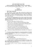 Quy chế nội bộ về quản trị - Công ty Cổ phần Dịch vụ Hàng không sân bay Tân Sơn Nhất
